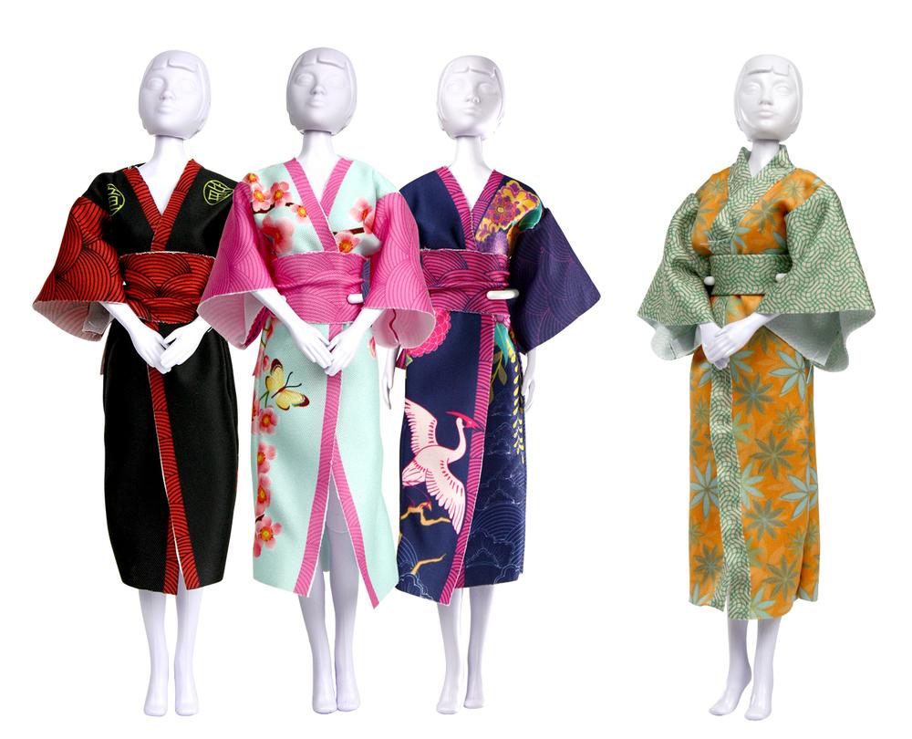 comment coudre un kimono japonais