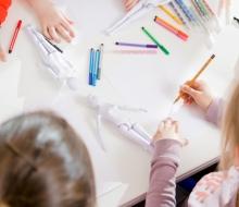Jong en creatief ontwerpen voor kinderen