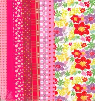 Fabric Set Pink