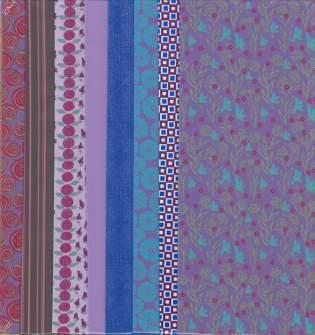 Fabric Set Purples