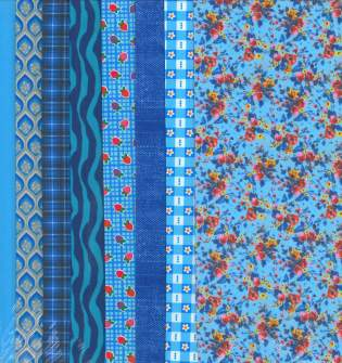 Fabric Set Blues