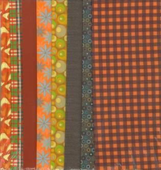 Fabric Set Autumn