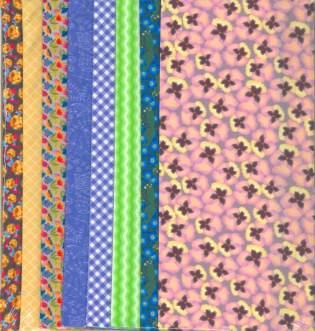 Fabric Set Violet