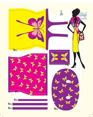 dolly butterfly pattern