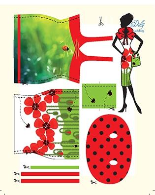 Dolly Ladybug pattern