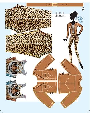Kitty Tiger pattern