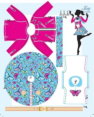 Lucy Butterfly pattern
