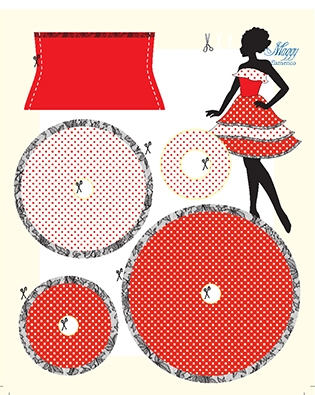 Maggy Flamenco pattern