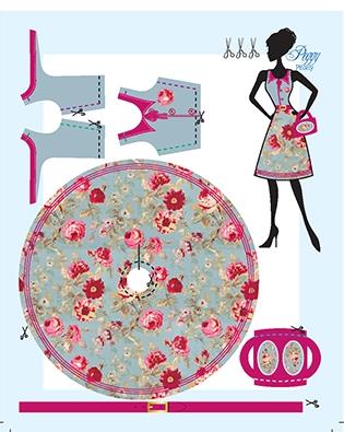 Peggy Peony pattern